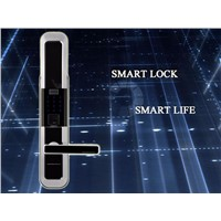 304 Stainless Steel Mortise RFID Electric Keyless Fingerprint Reader Door Lock