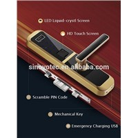 Luxury Hotel Door Lock RF Card Lock Keyless Door Lock