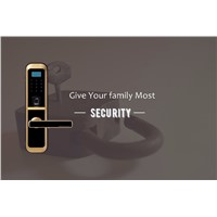 Fingerprint Door Locks Security Alarm System Digital Locks