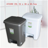 New Design Low Price Home PP Plastic Dustbin Series Rubbish Bin