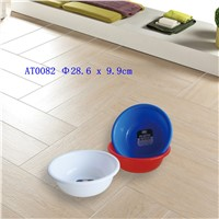 Plastic Round Clothes Water Pot Vegetable Wash Basin