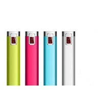 2017 Portable Mini Stylish LED Promotional Gift Power Bank 2600mAh