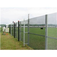 Anti-Climb Galvanized Welded Fencing