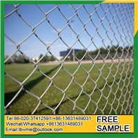 Factory Best Price Birmingham Used Chain Link Fence Montgomery Diamond Wire Mesh