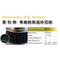 UNION High Temperature Abrasive (HTA) Nylon Brushes