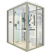 Hot Sale! Showay Prefabricated Modular Shower Room, Complete Shower Room