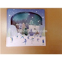 Christmas Cards, Greeting Cards, Card, Display Book Card, Color Card