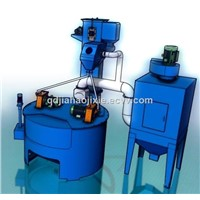 Rotary Table Rust Removing Shot Blasting Machine, Turntable