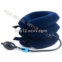 Rubber Gas Chamber Cervical Traction for Back & Neck Pain Inflatable Air Neck Brace