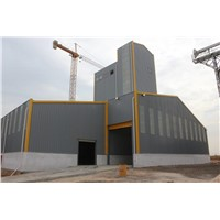 Feedmill Workshop Made by Prefabricated Steel Structure Building