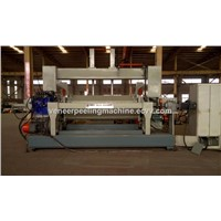 Hot Sale Factory Price Linyi Famous Brand 8 Feet CNC Automatic Spindle Peeling Machine for Plywood Core Veneer