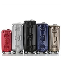 Hot Selling Troley Luggage Wth Aluminum Frame