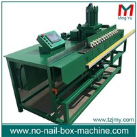 Steel Tongue Buckle Machine for Fold-Able Boxes