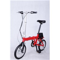 Folding Electric Bicycle E-Bike Electric Bike Customized OEM