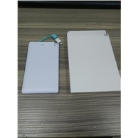 Credit Card Super Slim 4000mah Portable Power Bank Spare Part