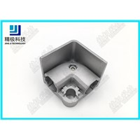 Elbow Connection with Flange Frame Aluminum Alloy Tubing Fitting OD 28mm AL-37