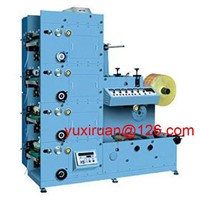 High Precision Automatic Label Flexo Printing Machine 6 Color 380v 50Hz