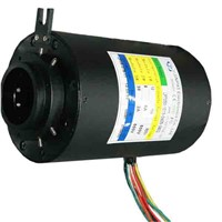 Multi-Circuits Slip Ring with 50mm Bore Compact Strcture In Light Inspection Machine