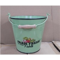 Metal 9L Bucket Metal Pail