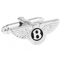 2017 New Design Stainless Steel Car Logo Cufflinks for Men's Accessories