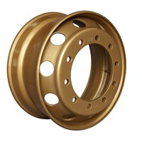 22.5x9.00 Gold Truck Steel Wheel Rim with the Offset 161mm