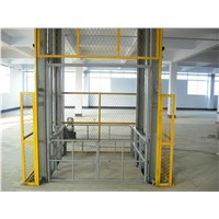 Guide Rail Chain Lift Platform Factory Simple Elevator 10m
