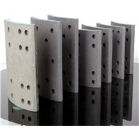 Truck Spare Parts Semi-Metal Hino Light Commercial Vehicle Brake Lining