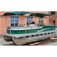 16ft Aluminum Fishing Pontoon Boat