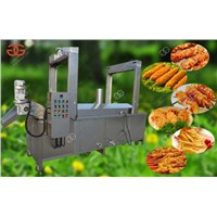 Continuous Deep Snack Frying Machine
