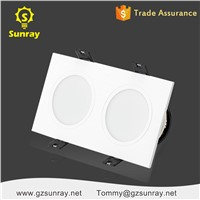 LED Residential Lighting Color Temperature Adjustable Surface Mounted 2x4 LED Panel Light