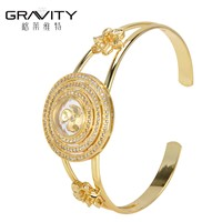 SHZH-014 Gravity 18k Gold Jewelry Fashion Women Bangles & Bracelets