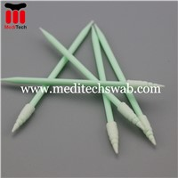 ANTISTATIC SHARP TIP HEAD CLEANROOM FOAM SWAB