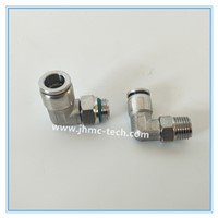 Stainless Steel Elbow Male Pneumatic Fittings