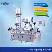 Automatic Small Bottle Filling & Capping Machine