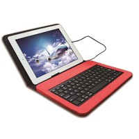 MFI Lightning Wired Keyboard with Leather Case for iPad Air YBK-S0908