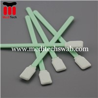 Specialty Manufactuer Plastic Handle Foam Cleaning Swabs