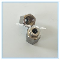 Stainless Steel Straight Female Connector