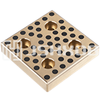 Slide Bearing Plate Sintered Bronze Plate Graphite Wear Plates like Selflube