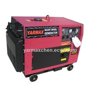 6kVA Economic Silent Type Diesel Generator 6500T Series