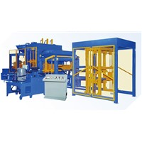 QT6-15 Fully-Automatic Hollow Concrete Block Making Machine