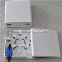 FTTH ATB Desktop Faceplate Access Terminal Box 2-Port