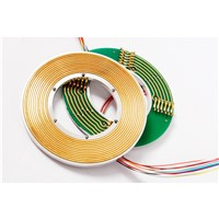 Bright Precsie Pancake Slip Ring for Limited Space Rotating Door