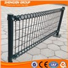 Galvanized or Powder Coated Decorative Double Circle Garden Fence