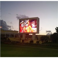 High Brightness P12DIP Outdoor LED Screen Front Service