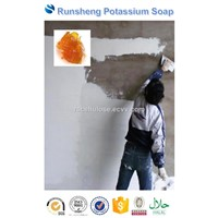 Potassium Soap (Soft Soap) Wall Putty Paste Spackling Compound Application Lubricant Incremental Agent