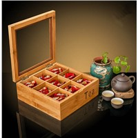 Wooden Tea Bags Gift Box