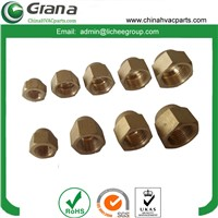 Air Condition Accessories Copper Forged Nut