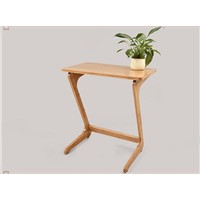 Bamboo Wood Side Table