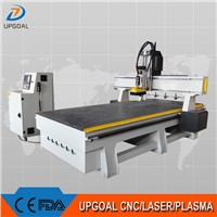 Changing 4 Pcs Tools Linear ATC CNC Router with SYNTEC System UG-1325ATC