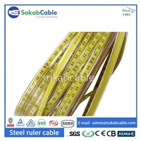 Steel Ruler Cable with Steel Conductor